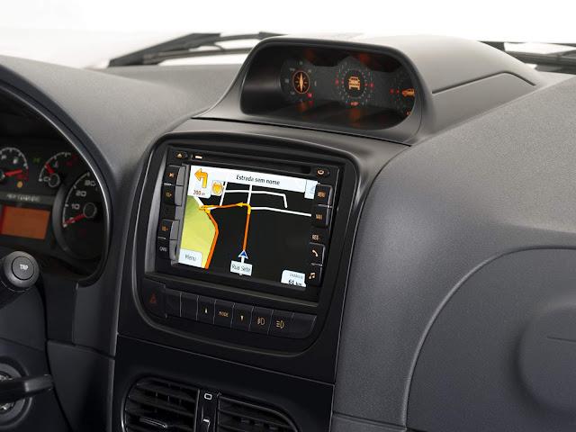 Nova Fiat Strada 2017 - Interior