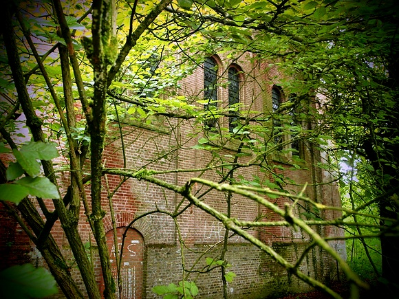Haunted convent in St. Anna ter Muiden Sluis