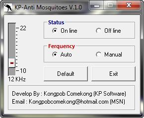 Software Anti Nyamuk Mosquito, Putuberbagi