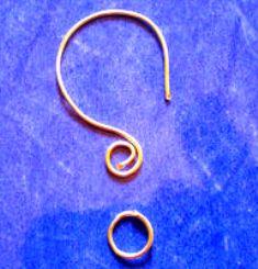 ear ring dari kawat sus