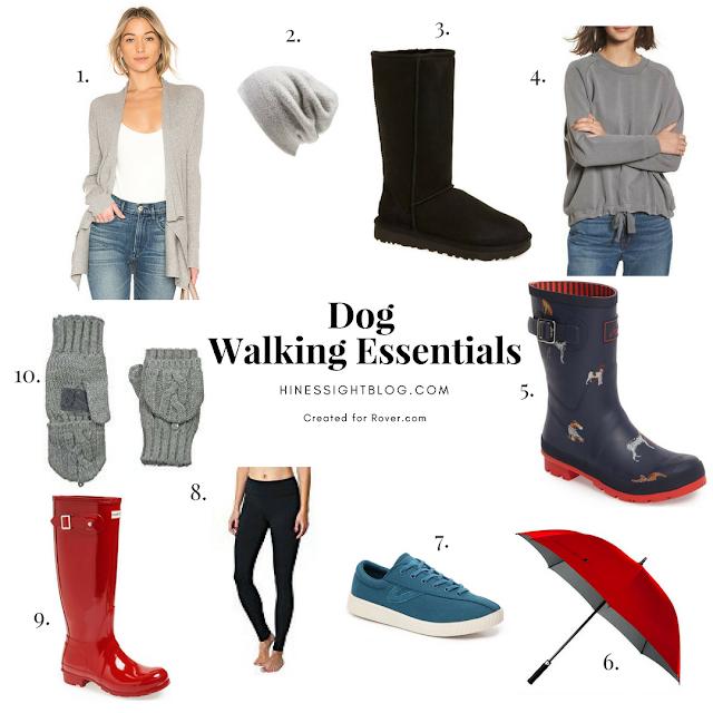 Dog Walking Wardrobe Essentials