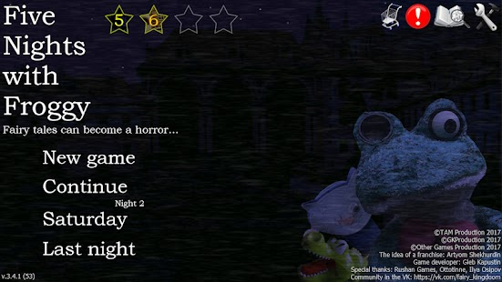 Five Nights with Froggy Apk Free on Android Game Download
