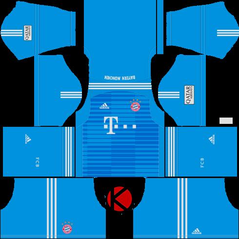 4e227805eff FC Bayern Munich 2018/19 Kit - Dream League Soccer Kits - Kuchalana