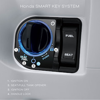 Cara penggunaan Honda Smart Key System PCX