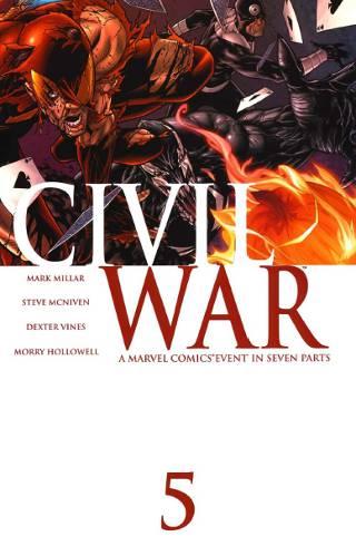 Marvel Civil War #5 PDF