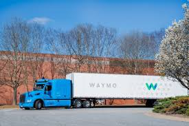 Self-driving truck pilotby waymo and google