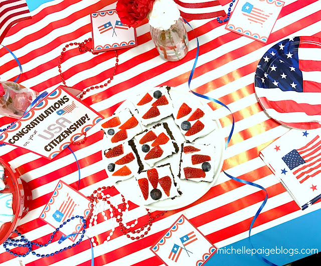 Simple ways to celebrate a new US citizen.