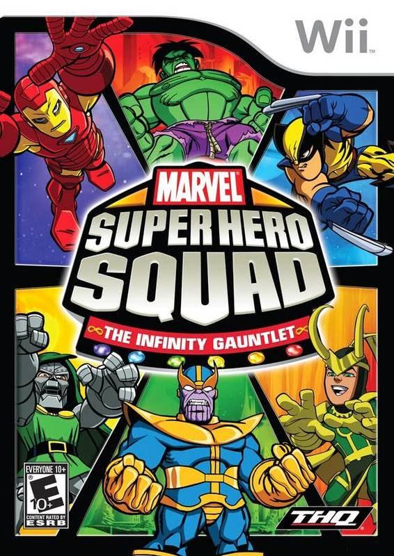 Marvel Super Hero Squad The Infinity Gauntlet - Marvel Super Hero Squad: Infinity Gauntlet [Wii][PAL][Español][CZ]