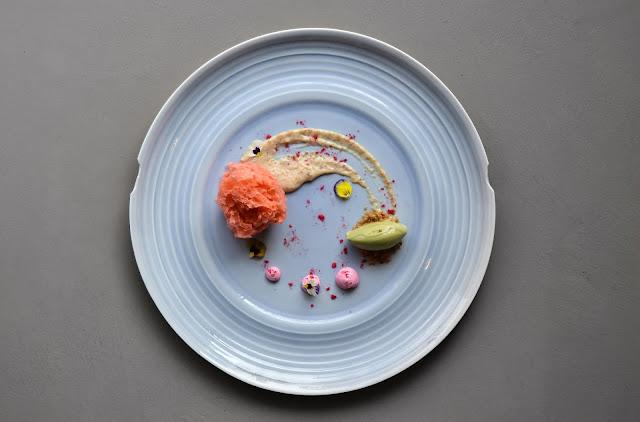 Davide Oldani ricetta con Ruby chocolate