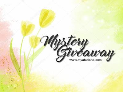 Mystery Giveaway by www.myafarisha.com, Blogger Giveaway, Senarai, Peserta, Pemenang, Lucky Draw, Blog, Instagram,