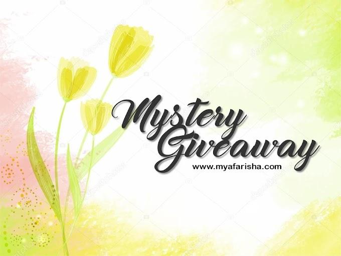 Mystery Giveaway by www.myafarisha.com