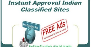 Instant Approval Indian Classified Sites List | Online Backlink