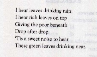 The Rain Poem Explanation Of All Stanzas Zahid Notes In modern free verse, the stanza, like a prose paragraph, can be used to mark a shift in mood, time, or thought. the rain poem explanation of all