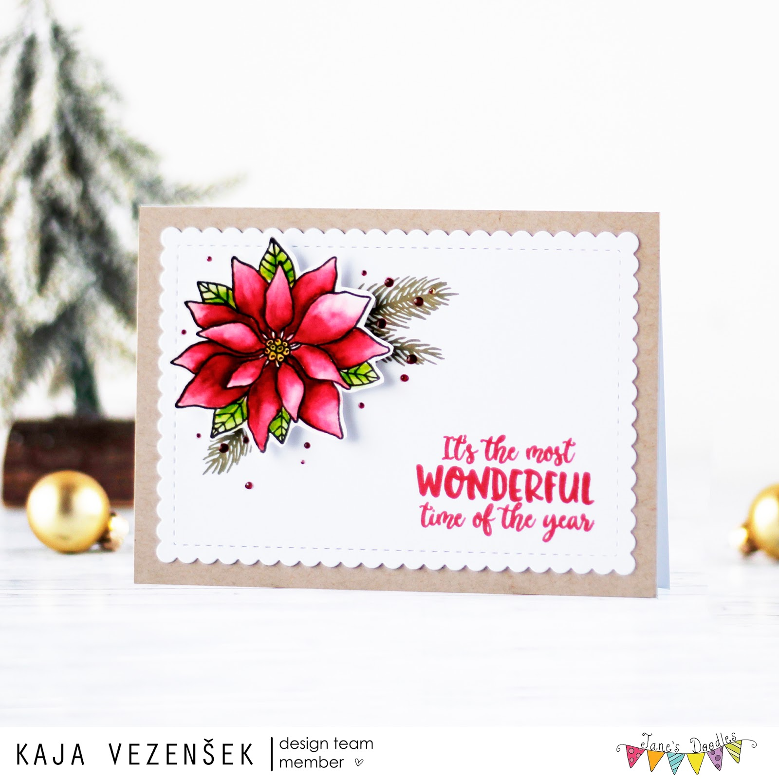 Poinsettia | JANE'S DOODLES