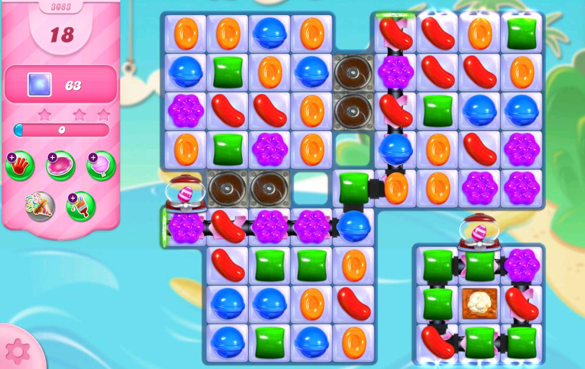 Candy Crush Saga level 3083