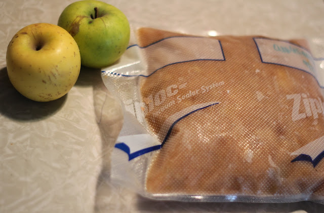 how to make freezer applesauce