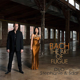 Bach: Art of Fugue - Duo Stephanie and Saar - New Focus Recordings
