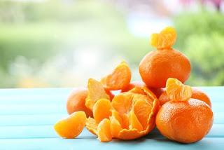 Masques à base de la mandarine pour rajeunir la peau
