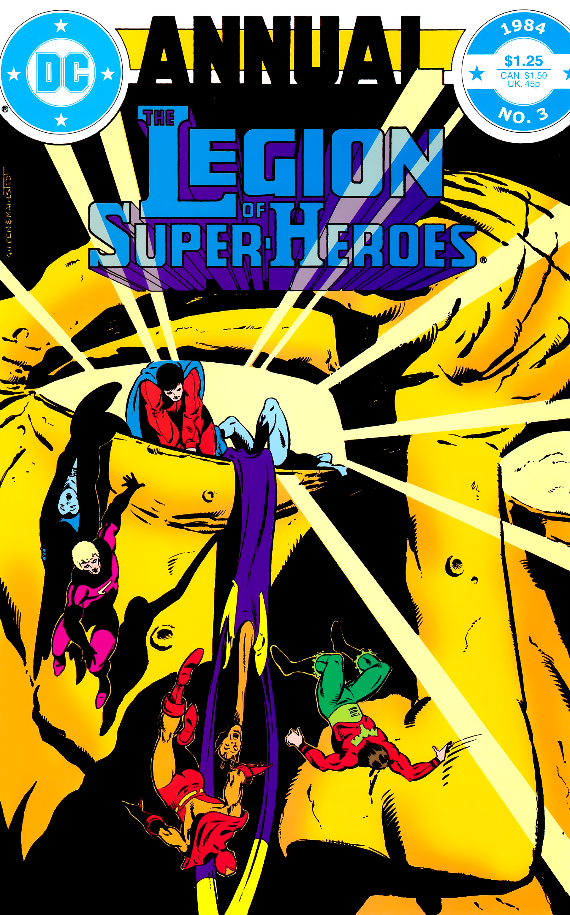 Legion of Super-Heroes (1980) _Annual_3 Page 0