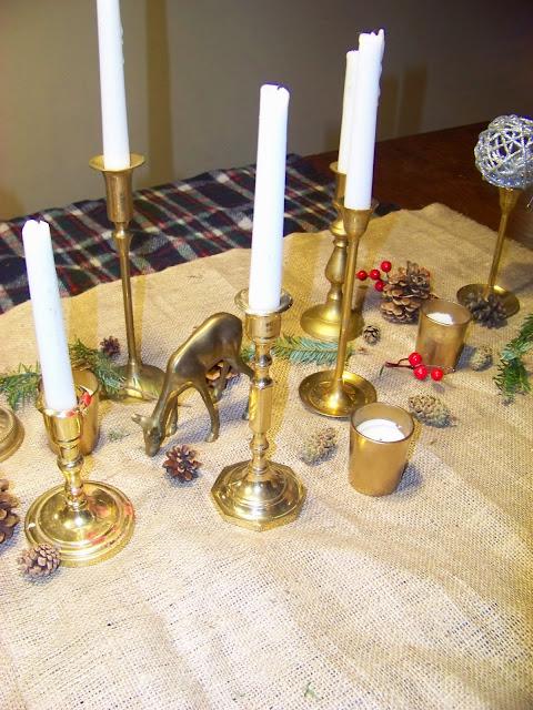 The Sunset Lane Home Tour Christmas Tree Table Mantle