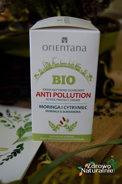 Orientana - BIO Krem aktywnie ochronny Anti Pollution Moringa i Cytryniec