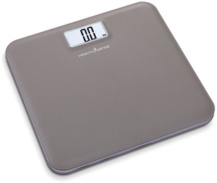 HealthSense Leather-Lite Personal Scale