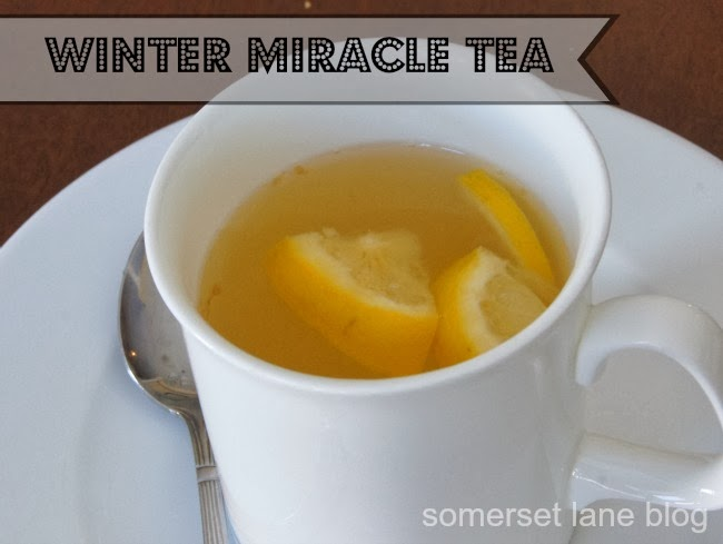 how to make miracle tea to fight sore throat and coughs.  good for adults and kids
