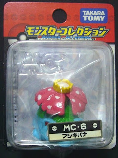 Venusaur figure repaint version Takara Tomy Monster Collection MC series