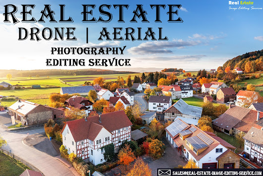 Aerial photo editing services | Drone Image Retouching Service Provider