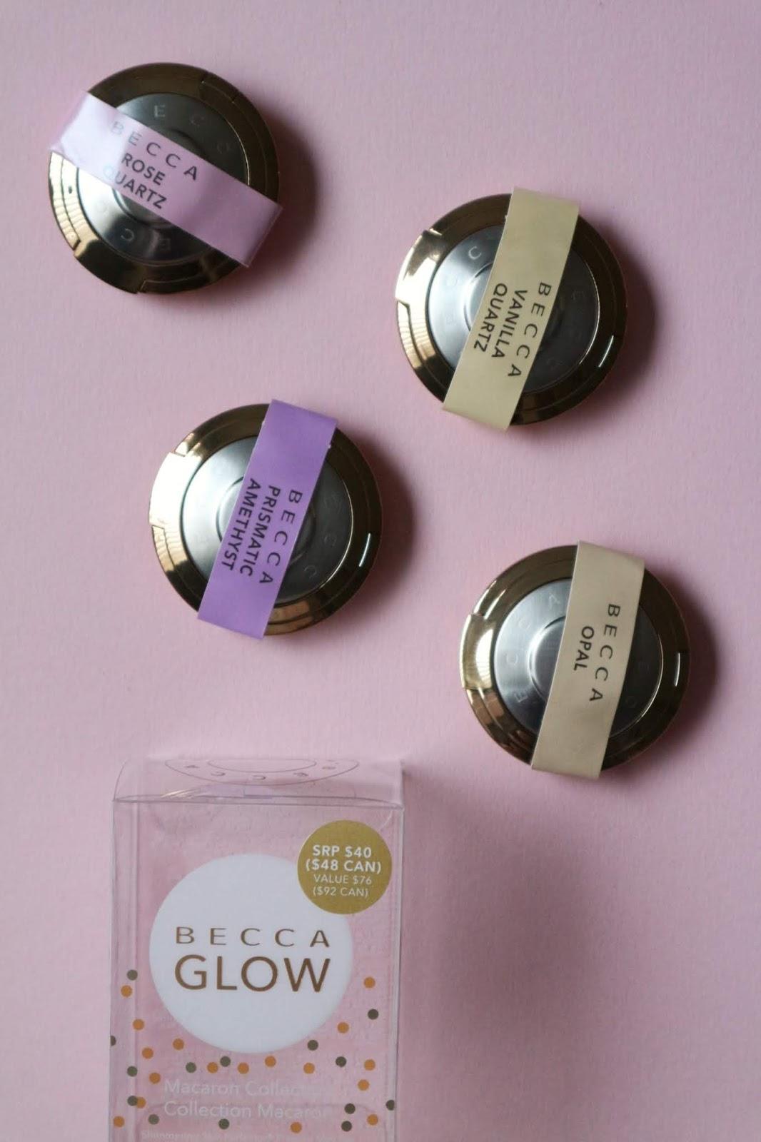 becca macaron set