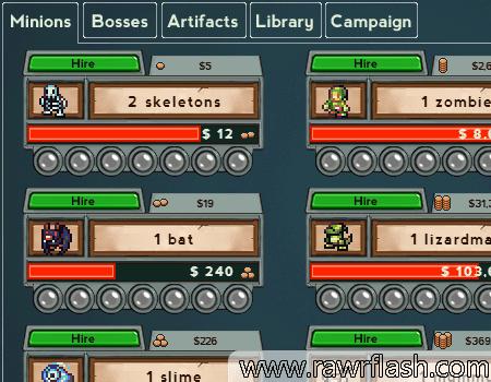 Overlod é um jogo de click/idle onde você precisa recrutar monstros para formar um exército. Com um exército formado, você poderá atacar bases e ganhar recompensas. Seu objetivo é juntar o máximo de criaturas do submundo para acabar com os humanos!