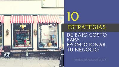 estrategias para promocionar mi negocio