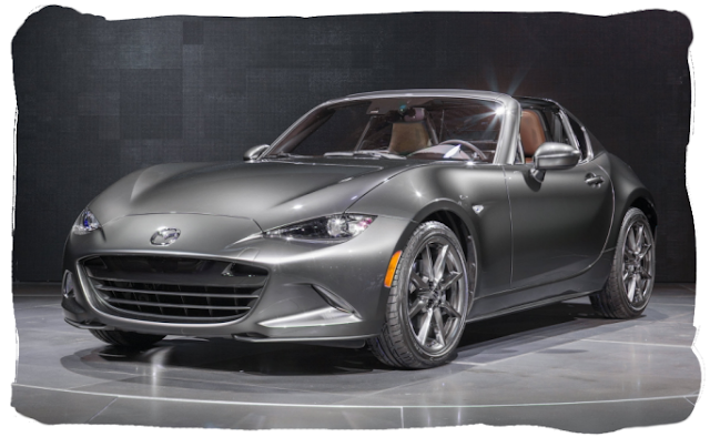 Mazda MX-5 RF Retractable Fastback ND Launch Edition Miata Roadster