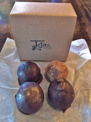 Chocolate from Tejas Chocolate Craftory