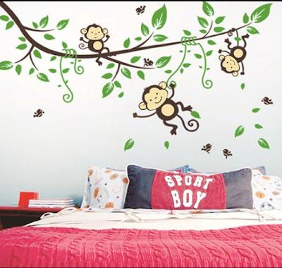 Inspirasi Desain Kamar Tidur  Dengan Nuansa Pepohonan Yang Adem Dan Asri 10