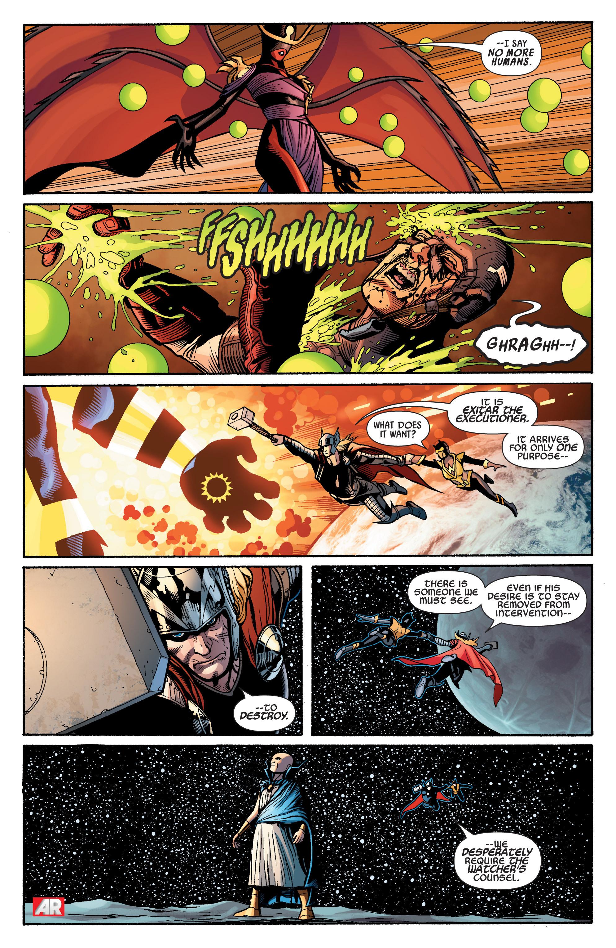 Read online Uncanny Avengers (2012) comic -  Issue #15 - 20