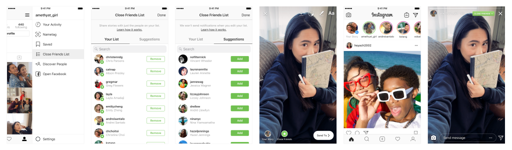 You Can Now Share Instagram Stories To A Selected Group Of Friends Only
