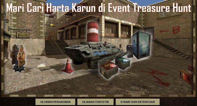 Informasi Dan Cara Mencari Harta Karun di Event Treasure Hunt PB Garena