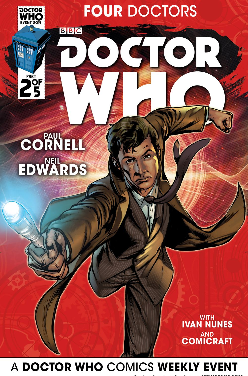 Doctor Who 2015 Event The Four Doctors | Viewcomic reading