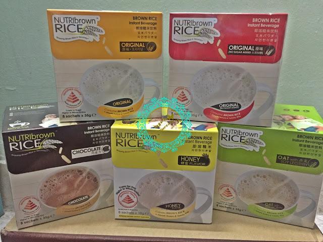 Nutri Brown Rice, menu diet alaf baru, cara untuk kurus dengan pantas, menu mudah sarapan pagi, menu ringkas, sarapan mudah dan ringkas, cereal drink, whole grain, berang perang, brown rice, kebaikkan beras perang,