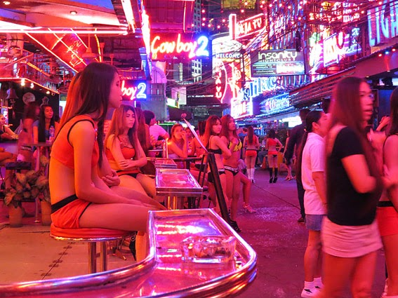 Oriental adventure with girls at Soi Cowboy