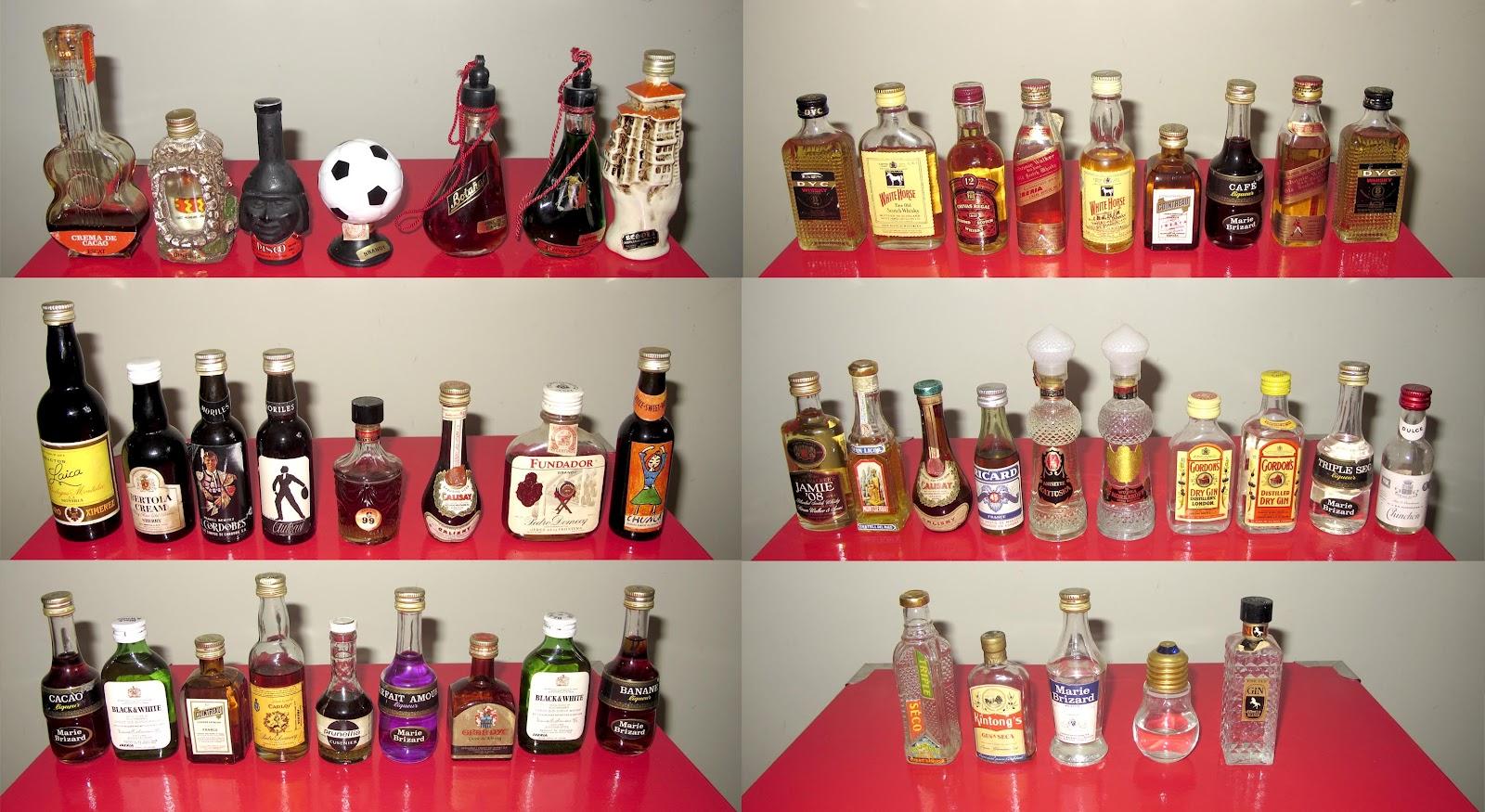 Onda: Colección De 48 Mini Botellas De Alcohol