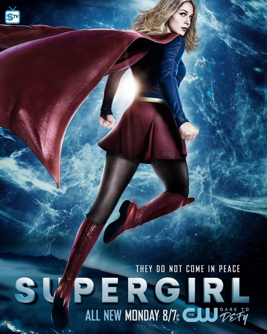 Supergirl 2x20 City of Lost Children poster
