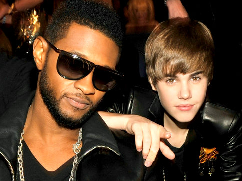 usher and bieber relationship