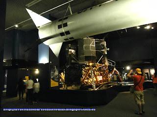 Sección de ingenios espaciales, en el Science Museum