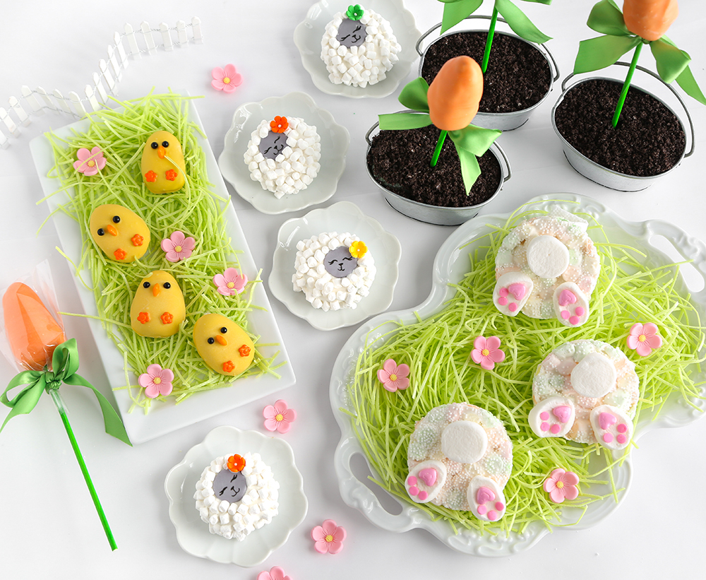 Four quick and easy easter treats for hgtv sprinkle bakes for Quick and easy easter treats recipes