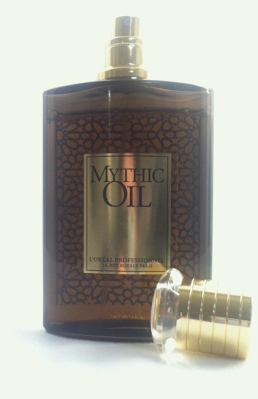 DancingWithDisaster: L'Oreal Mythic Oil Hair Perfume