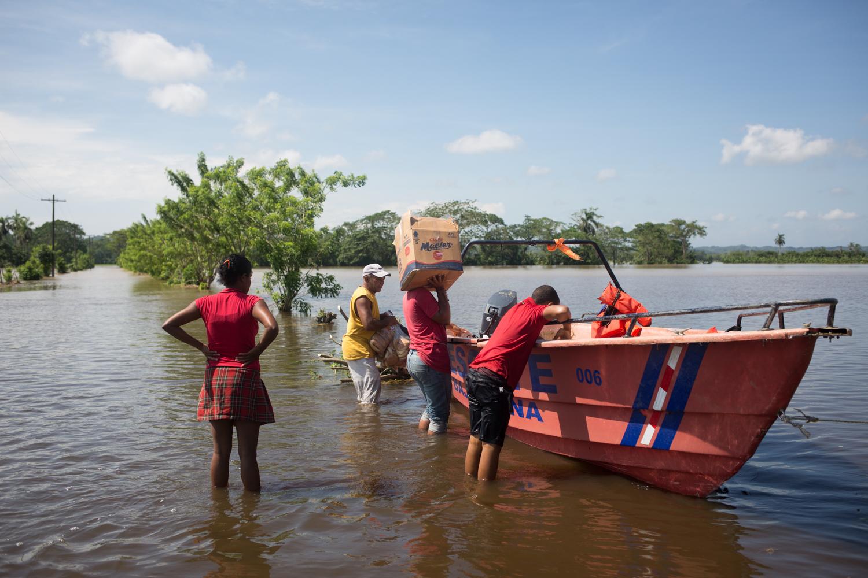 Población dominicana del Norte y Este vulnerable tras paso de huracanes Irma y María