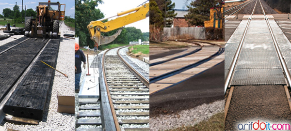 OMNI RAIL solusi bagus untuk perbaiki jalan di palang kereta api