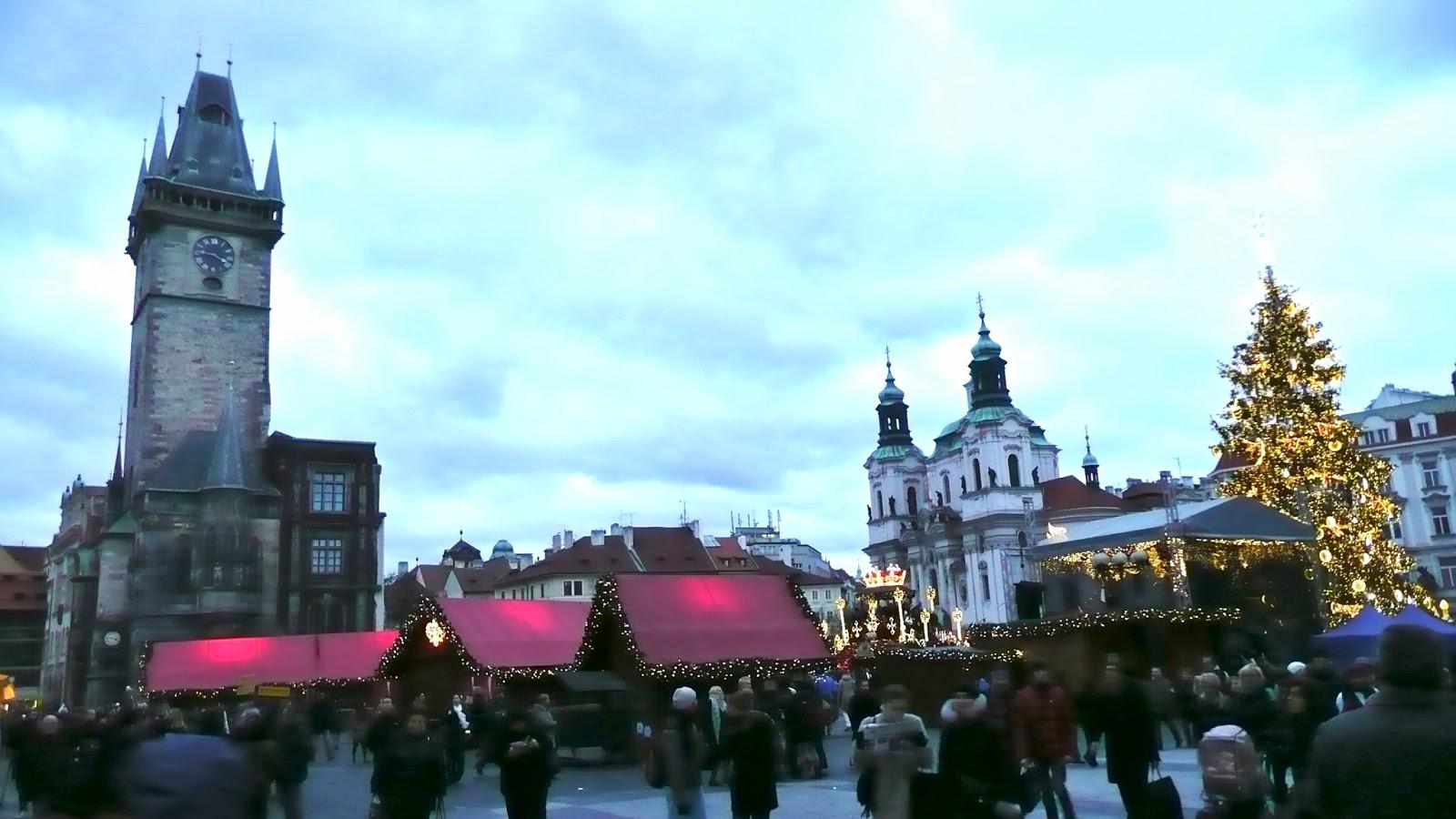 Praha Lämpötila